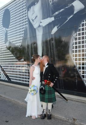 Palasad wedding photo by Columbia Photos